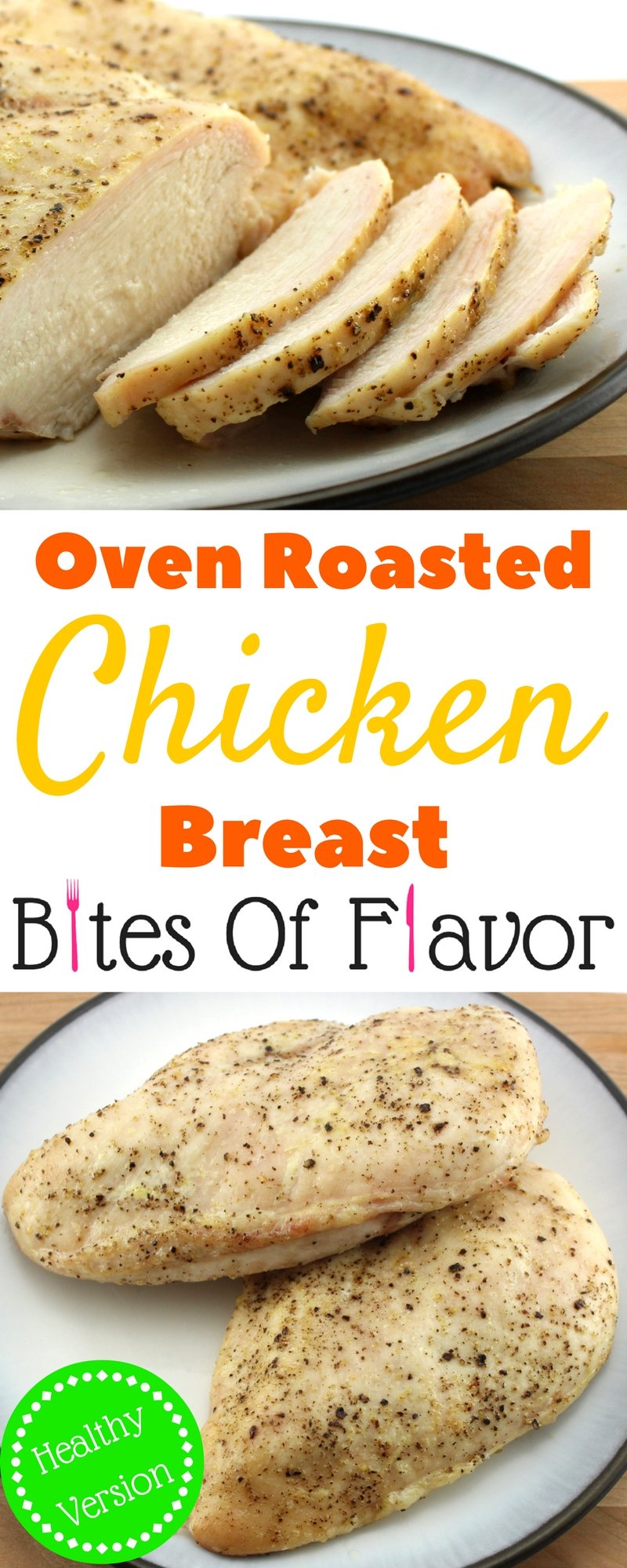 Oven Roasted Chicken Healthy Easy To Make And Delicious Great For Salads Or Any Other Recipe 2 Smartpoints Per Serving Weight Watcher Friendly