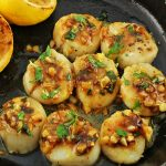 Seared Brown Butter Lemon Scallops
