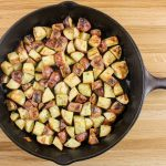 Cast Iron Skillet Ranch Potatoes
