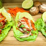 Slow Cooker Asian Pork Lettuce Wraps