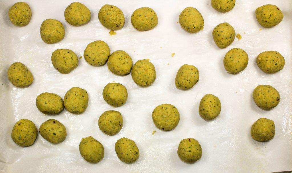 Falafel balls.