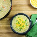 Broccoli Cauliflower Chowder