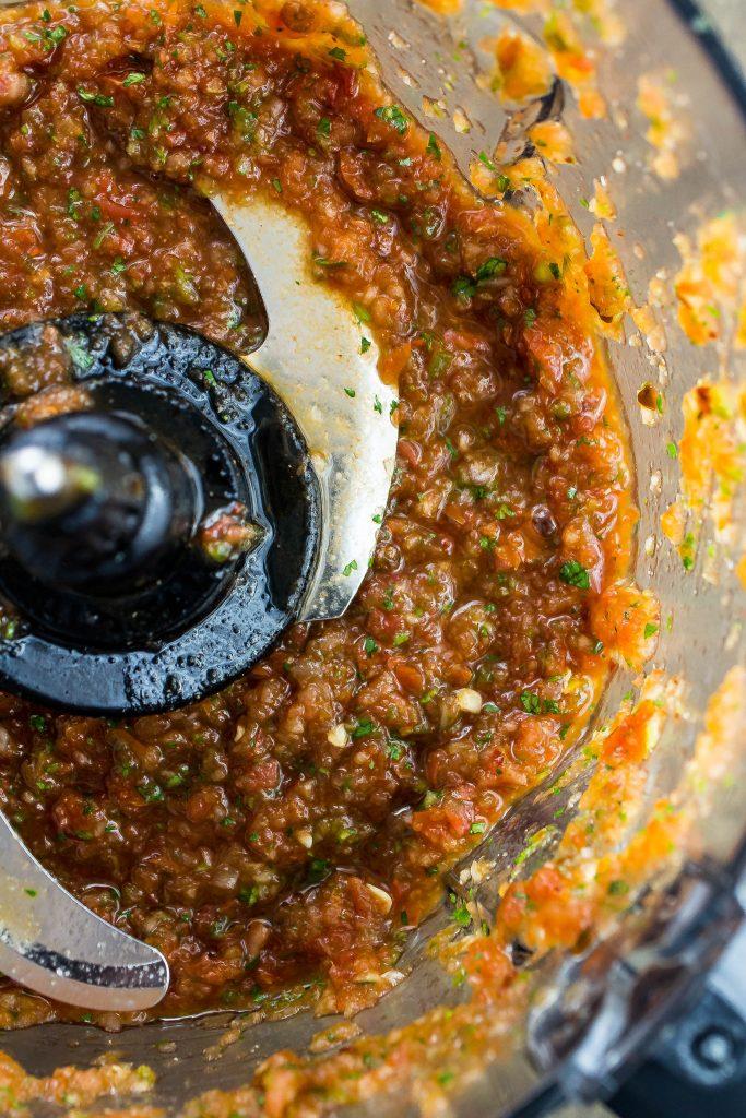Blended Salsa