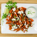 Indian Spiced Carrots with Curry Sauce