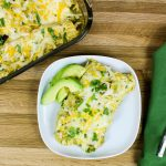 Roasted Tomatillo Vegetable Enchiladas