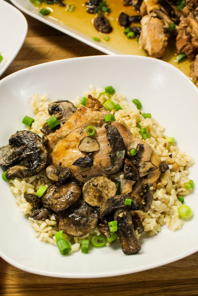 how to cook mushroom adobo