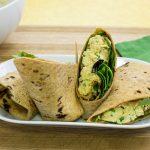 Curry Chicken Salad Wrap