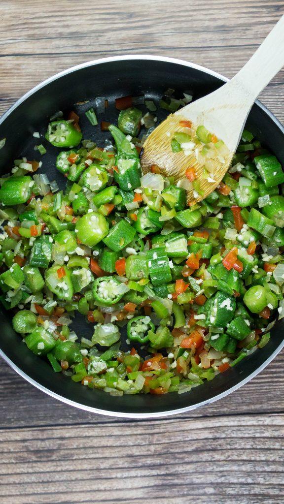 Cajun Turkey Quinoa Skillet