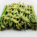 Lemon Feta Pesto Asparagus
