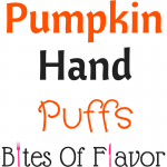 Puffed pastry filled with pumpkin pie filling and topped with a drizzle of frosting