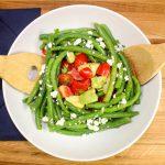 Quick & Easy Green Bean Tomato Salad
