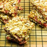 Strawberry Breakfast Oatmeal Bars