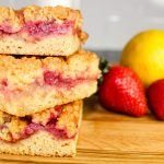 Strawberry Jam Crumb Bars