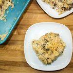 Cauliflower Rice Mushroom Casserole
