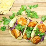 Sweet & Spicy Asian Shrimp Tacos