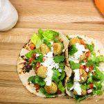 Baked Falafel Tacos