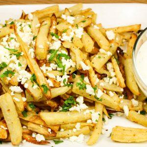 Baked Feta Greek Fries
