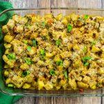 Cajun Turkey Potato Casserole
