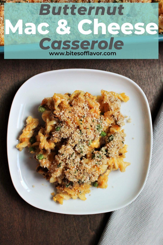 Butternut Mac & Cheese Casserole