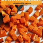 Diced roasted butternut squash