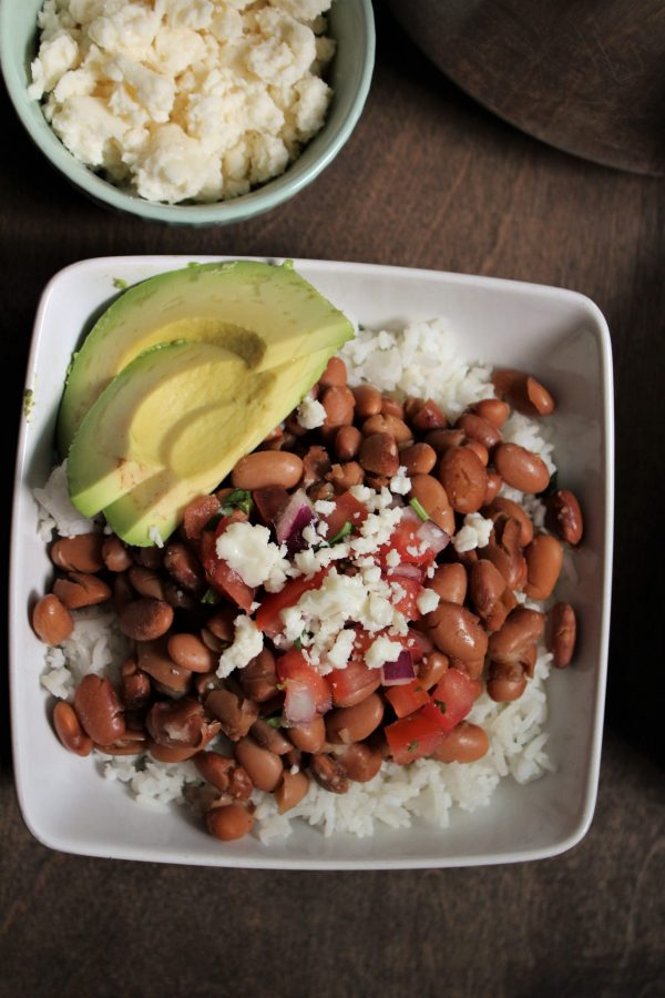Pinto beans cooked in an instant pot with Mexican spices.
