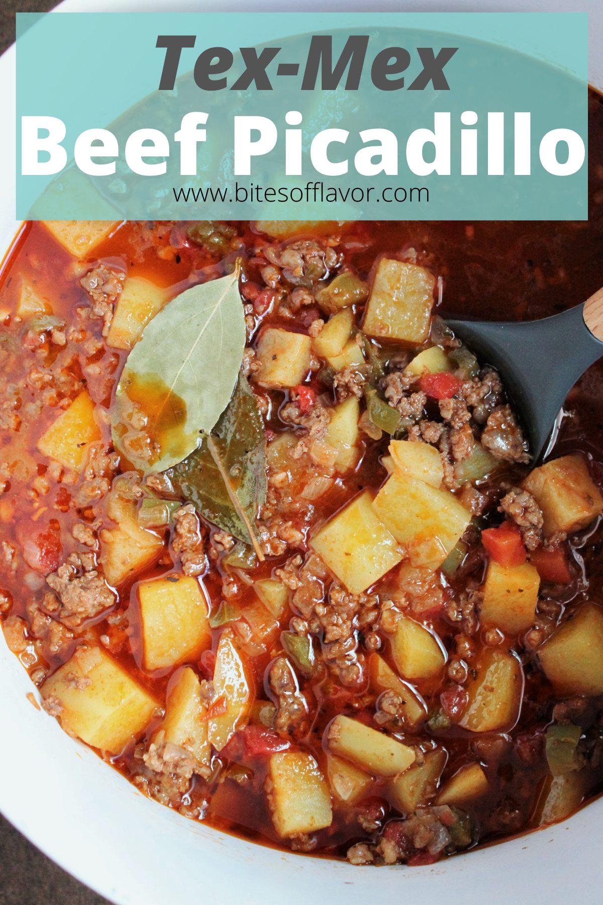 Tex-Mex Beef Picadillo