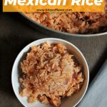 basmati rice cooked with chicken bouillon, onion, tomato sauce, and mexican spices
